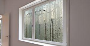 condens buitenkant ramen