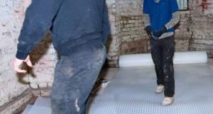drainage vloer kelder