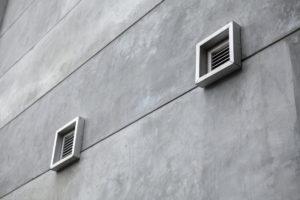 relatieve luchtvochtigheid ventilatie