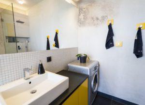 schimmel nieuwe badkamer